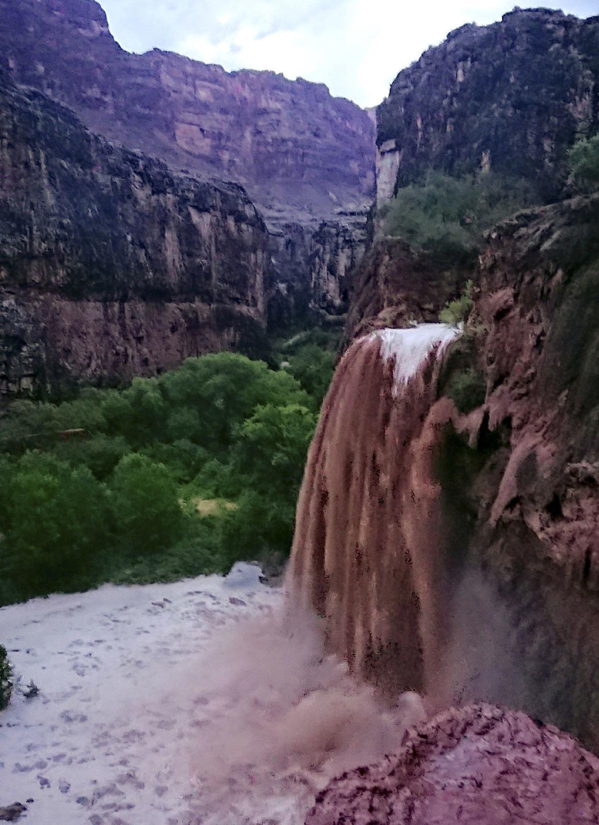 Flooding Grand Canyon