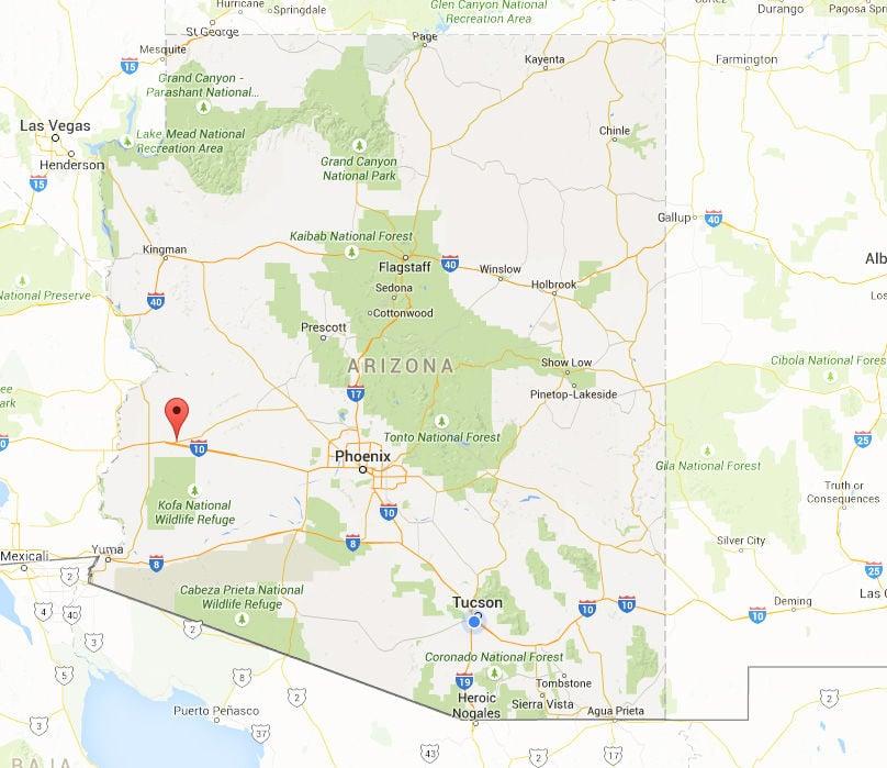 Brenda Arizona Tucsoncom - Google maps arizona
