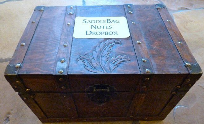 Saddlebag Notes Dropbox