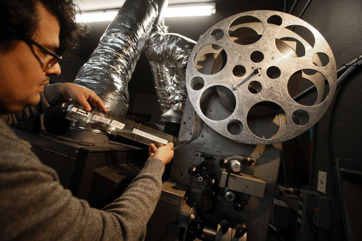 Loft 70mm projector