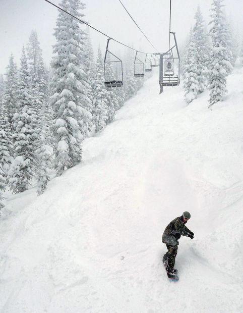 Heavy snowfall in Colorado