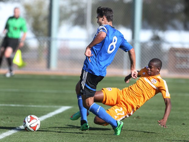 Houston Dynamo vs. San Jose Earthquakes MLS soccer