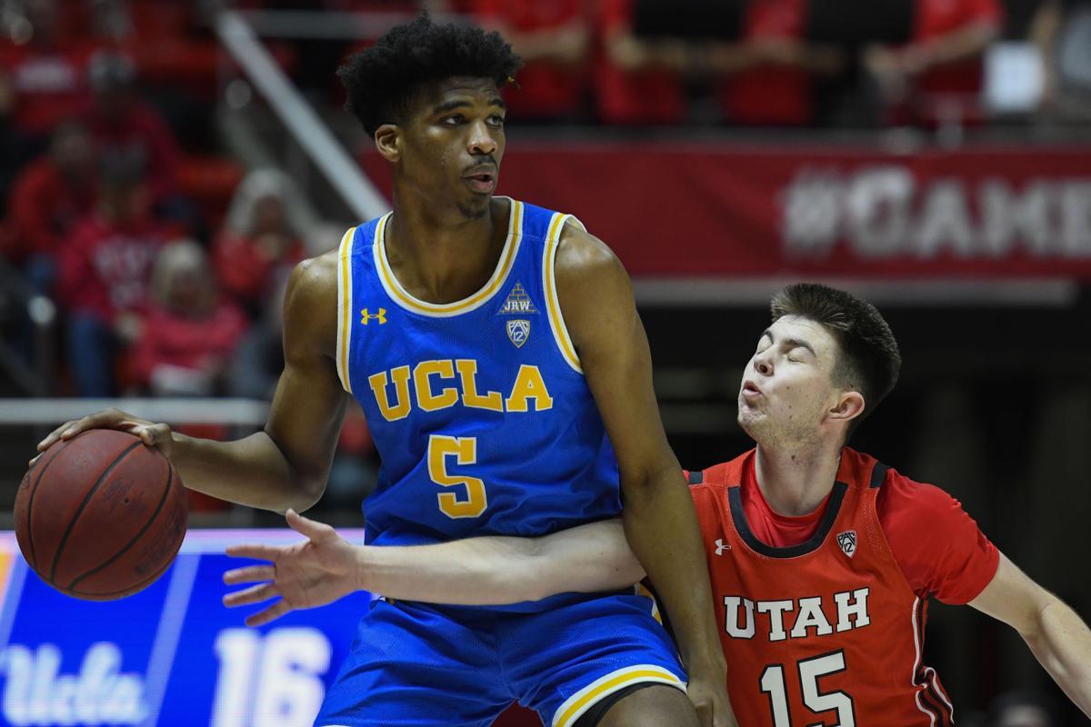 UCLA Utah Basketball