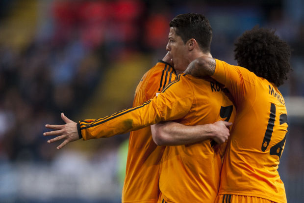 Xabi Alonso , Cristiano Ronaldo, Marcelo
