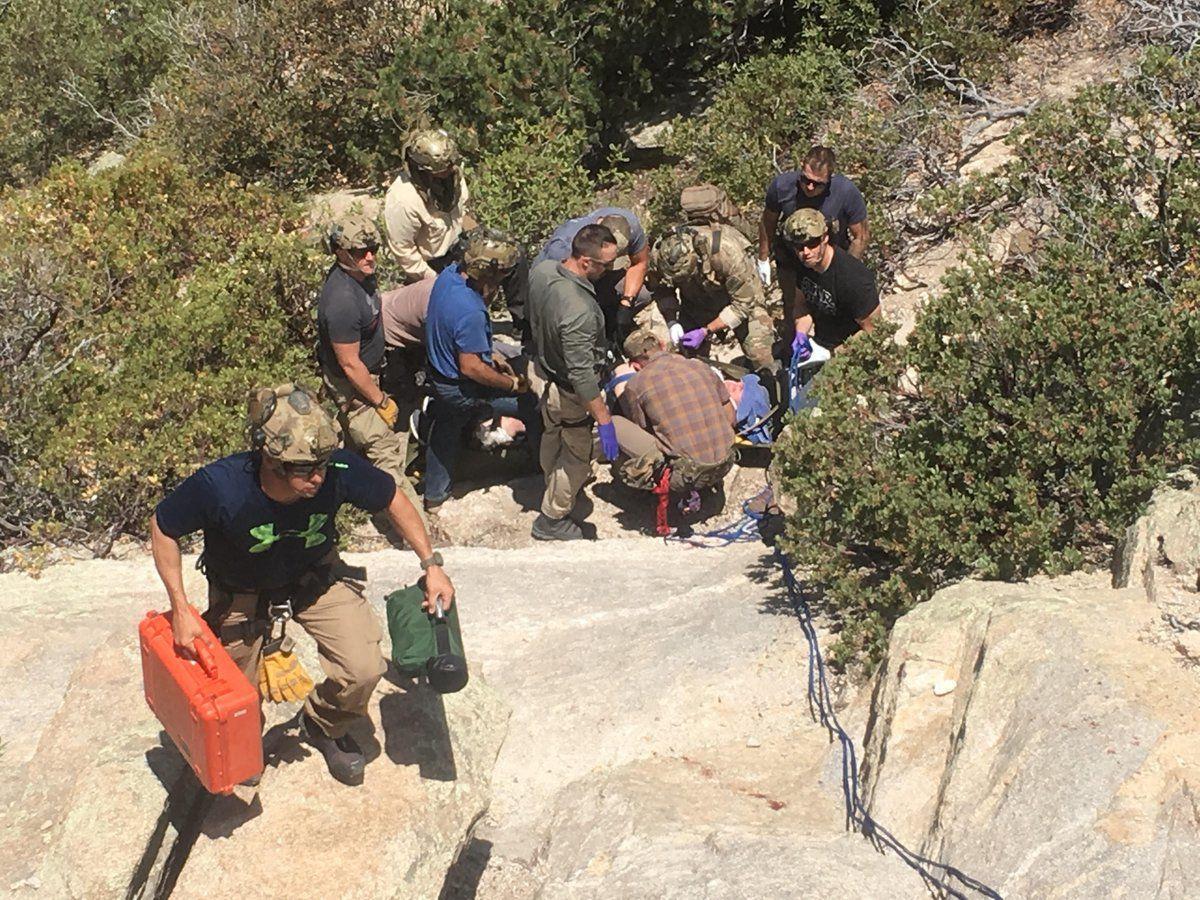 Mt. Lemmon rescue