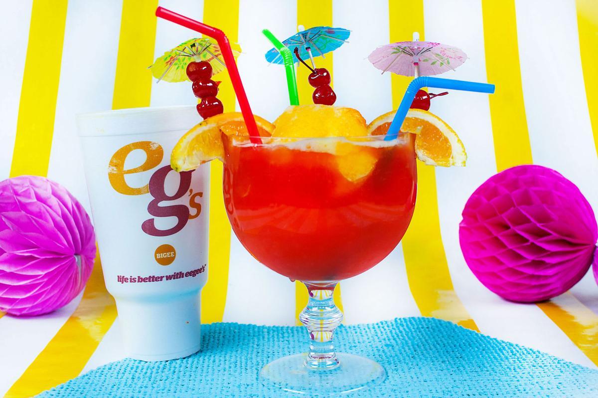 Eegee's tiki drink