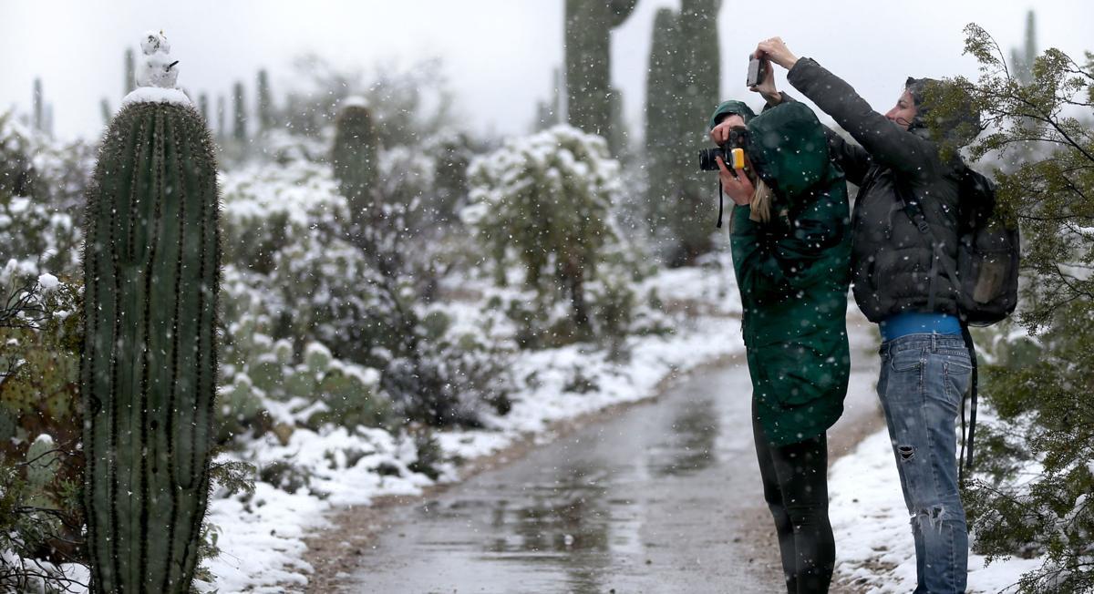 Snow Across Tucson