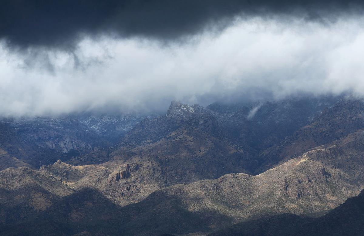 Wintry Tucson weather