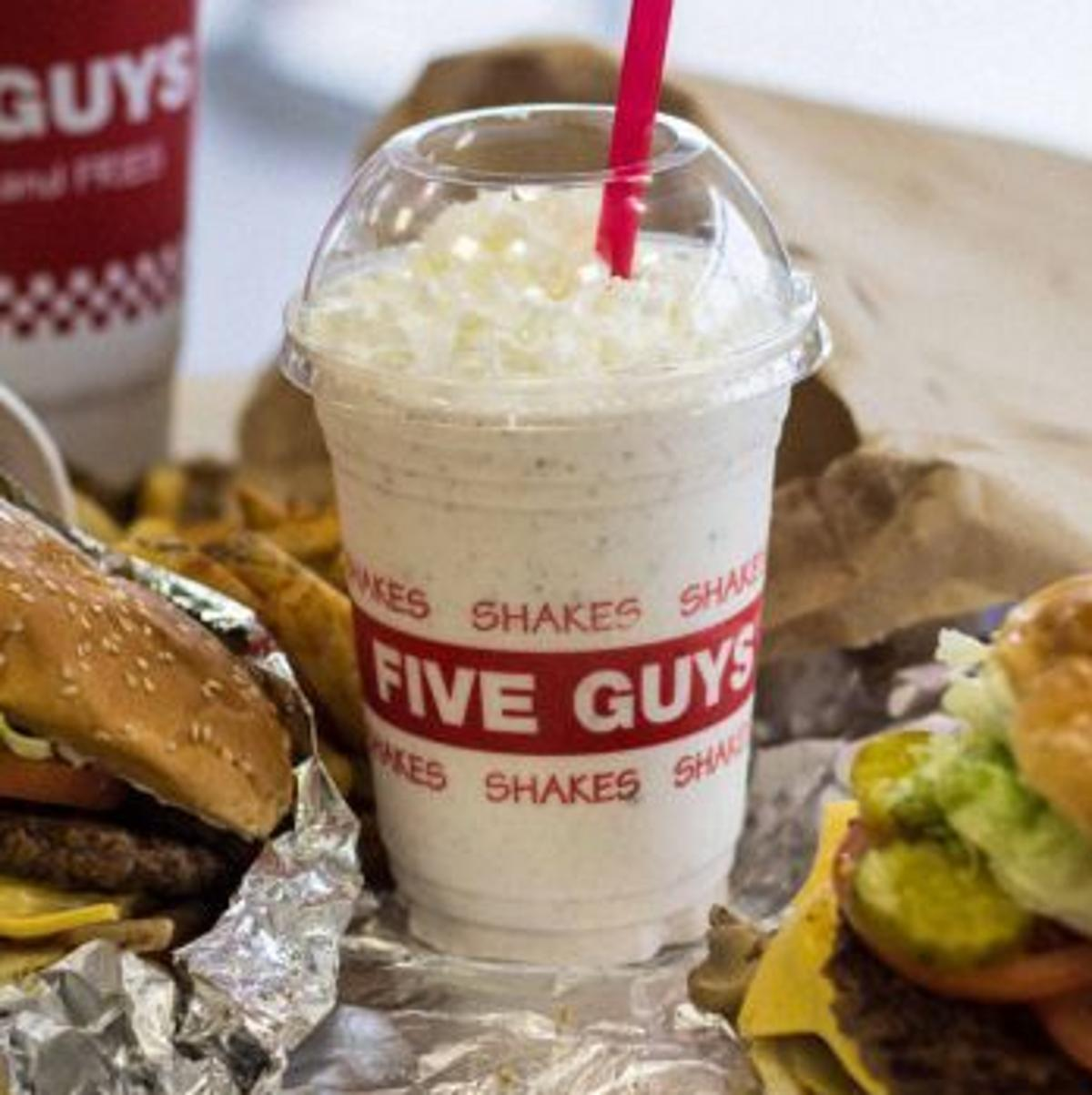 Five Guys Picks Marana To Roll Out Milkshakes Latest Entertainment And Dining News Tucson Com