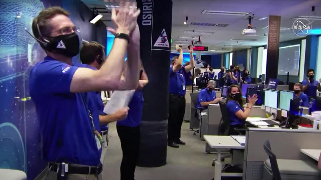 UA-led space mission makes history with five-second stop on asteroid Bennu