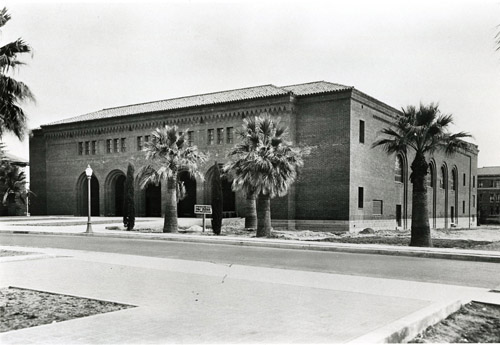 The UA Auditorium was the largest in the state