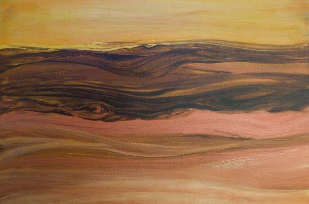 Painting by Ellen Cohen