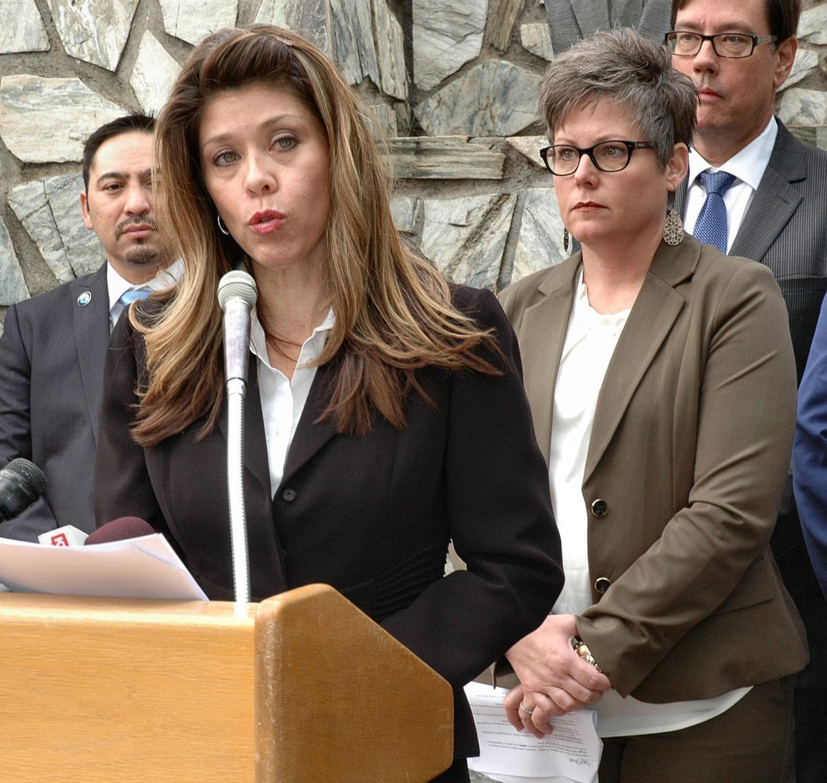 Senate Minority Leader Rebecca Rios