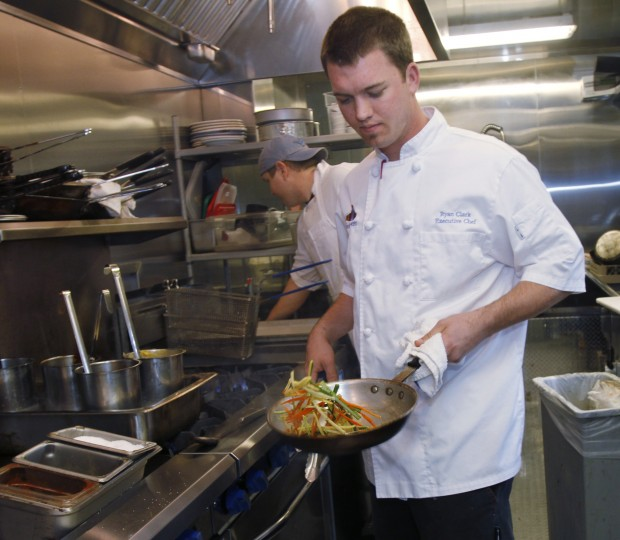 Ryan Clark up for top new chef