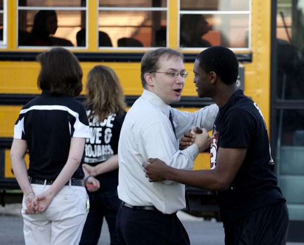 In hint of normalcy, schools restart in blast-ravaged town