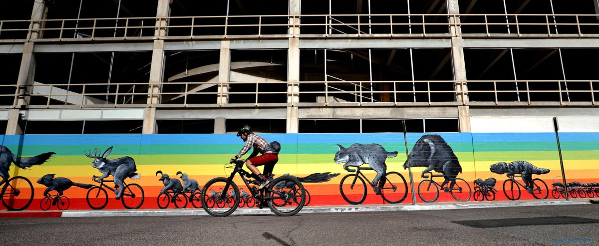 El Tour de Tucson Inspired Mural (copy)