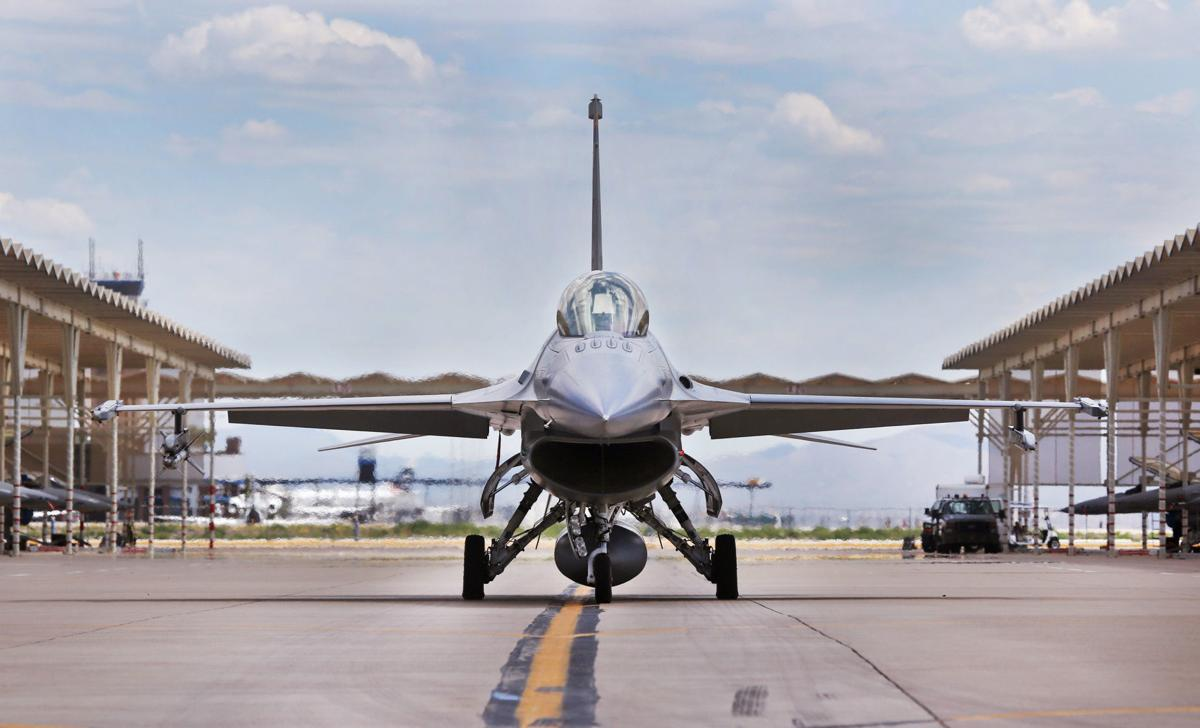 Arizona Air Force Base >> Air Force Wants To Boost F 16 Flights At Tucson Airport