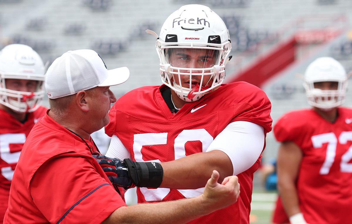 Arizona Wildcats football practice (copy)