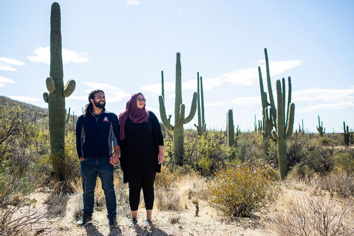 Ahmad Taleb and Noor Nassar