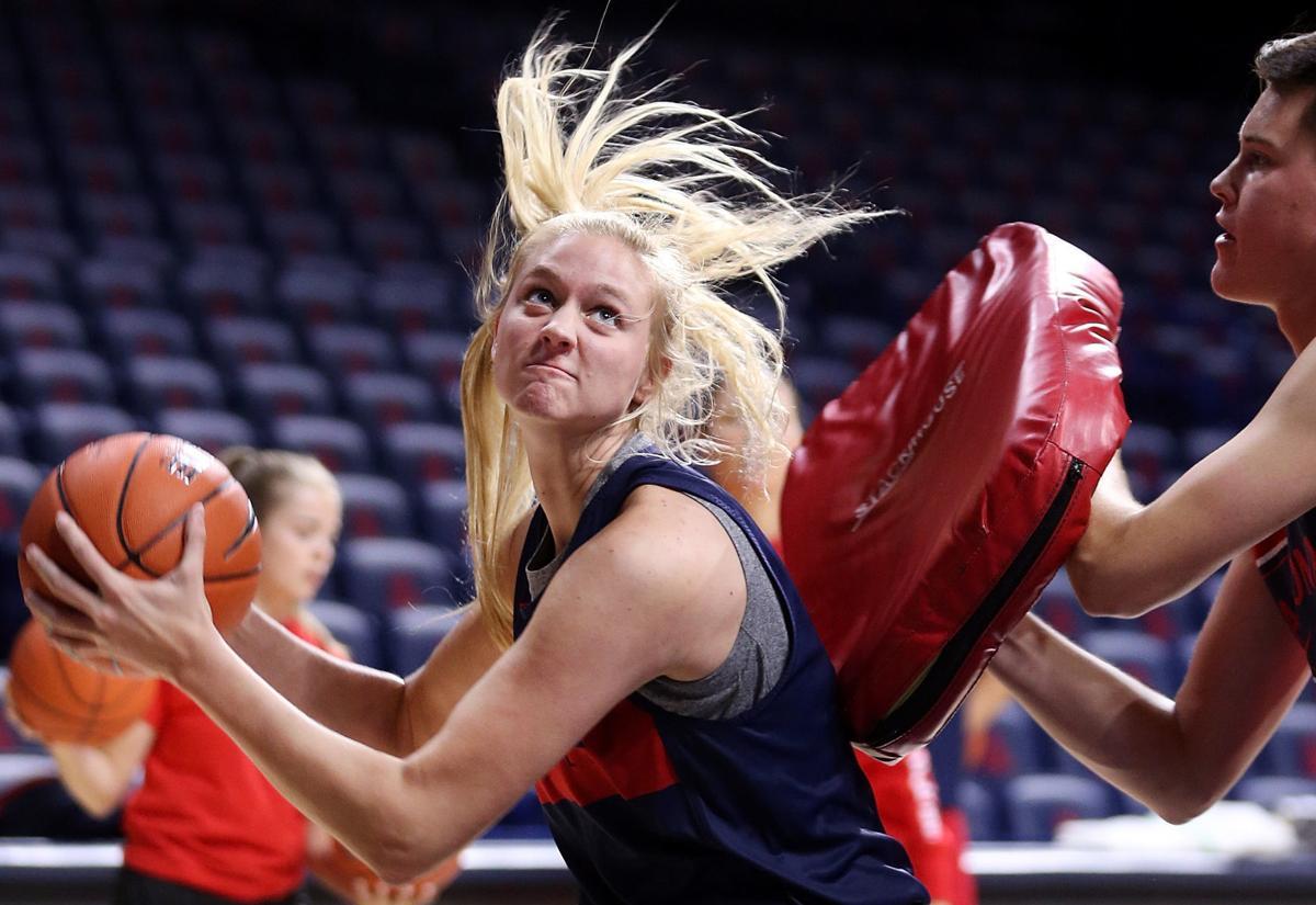 Arizona women's basketball team starts practice with high ...