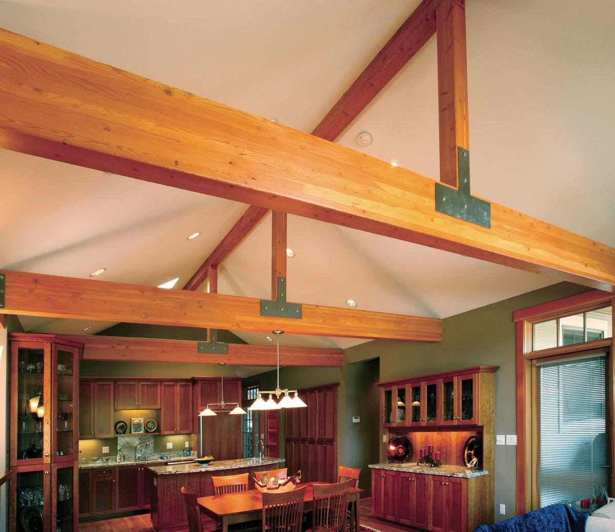 Which is better solid wood or laminated beams for House columns prices