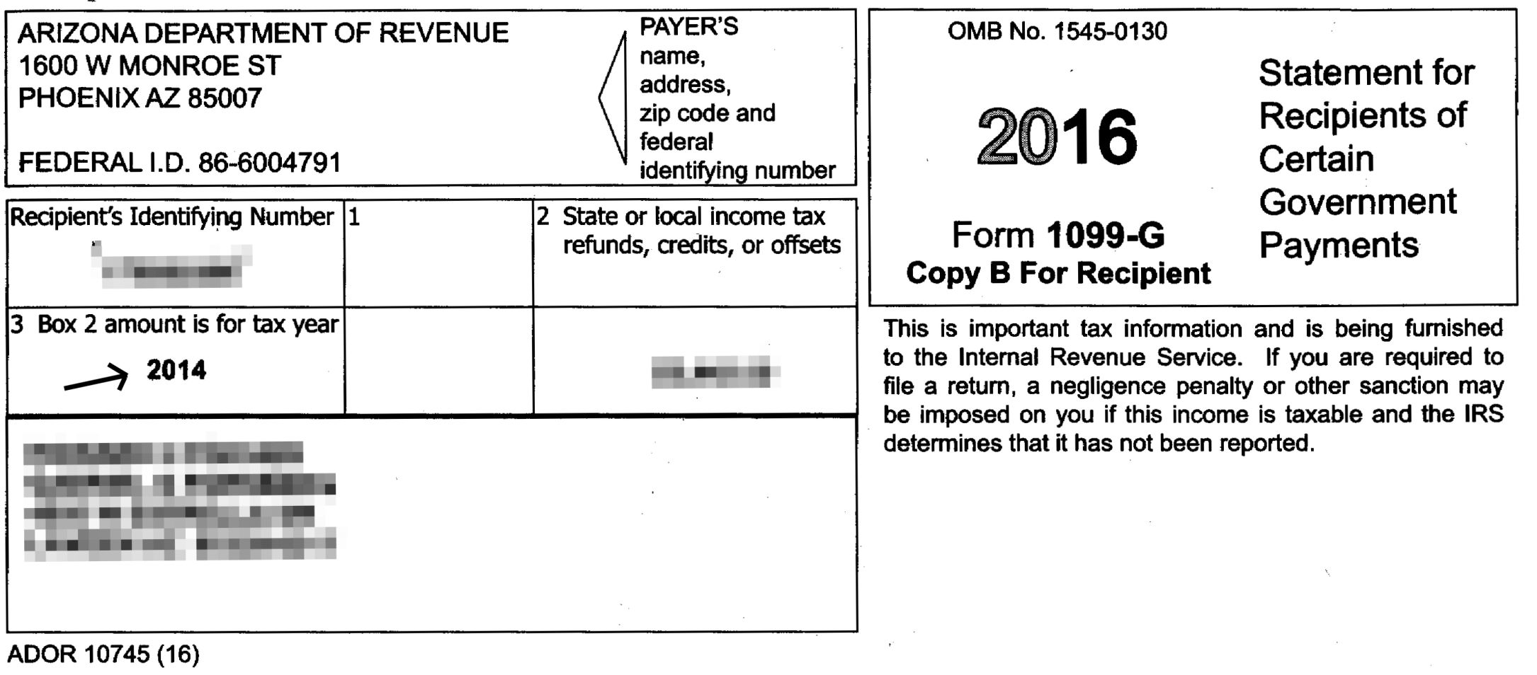 Arizona sent out wrong state refund tax forms to 580,000 ...