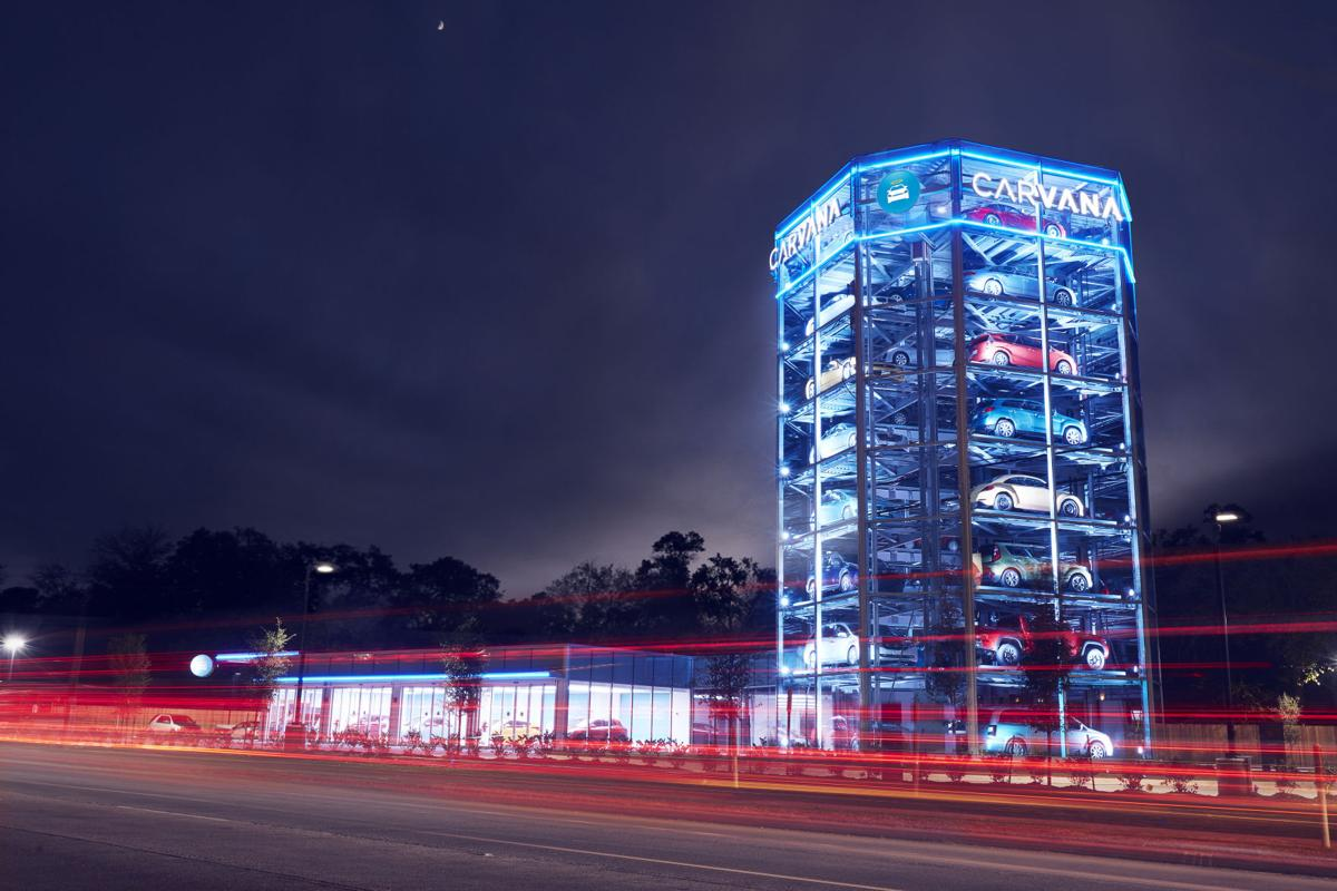 tempe could become the home of arizona s first used car vending machine tucson business news tucson com used car vending machine
