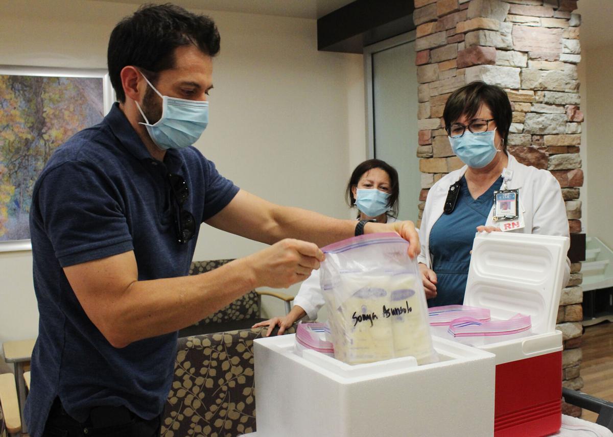 TMC breast milk donations