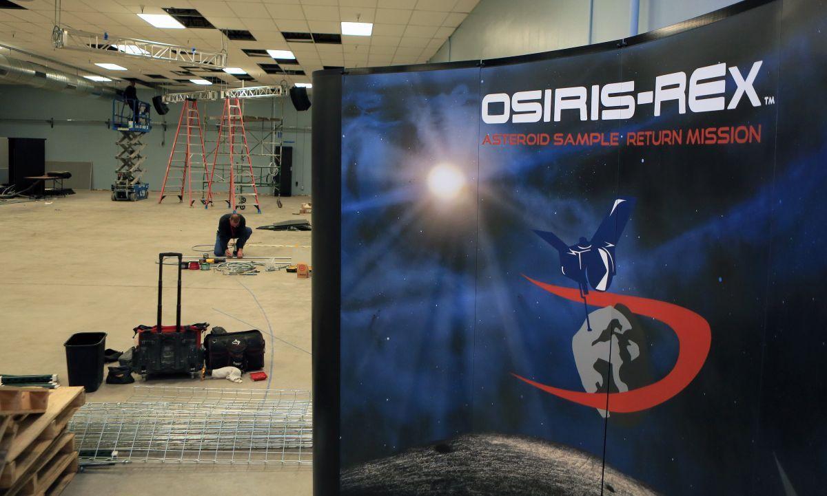 ODSIRIS-REx building remodel