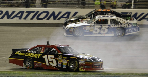 Auto racing: Bowyer wins; so does Gordon