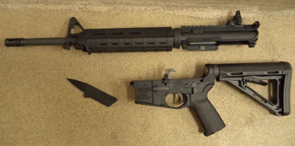 Hidden rifle