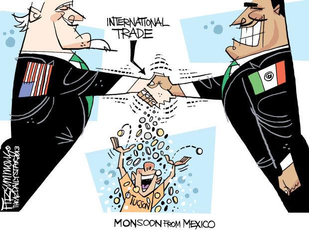 Daily Fitz Cartoon: Trade