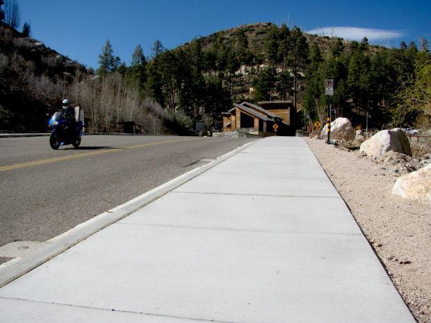 New sidewalks in Summerhaven
