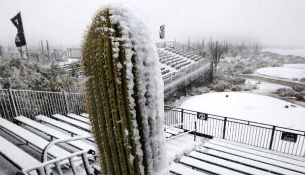 Snow for PGA is not so rare for Tucson