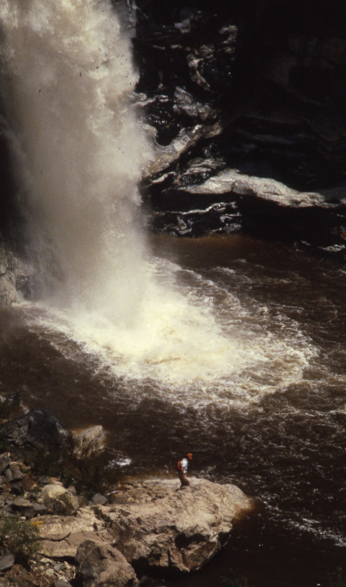 Tanque Verde Falls flash flood 1981