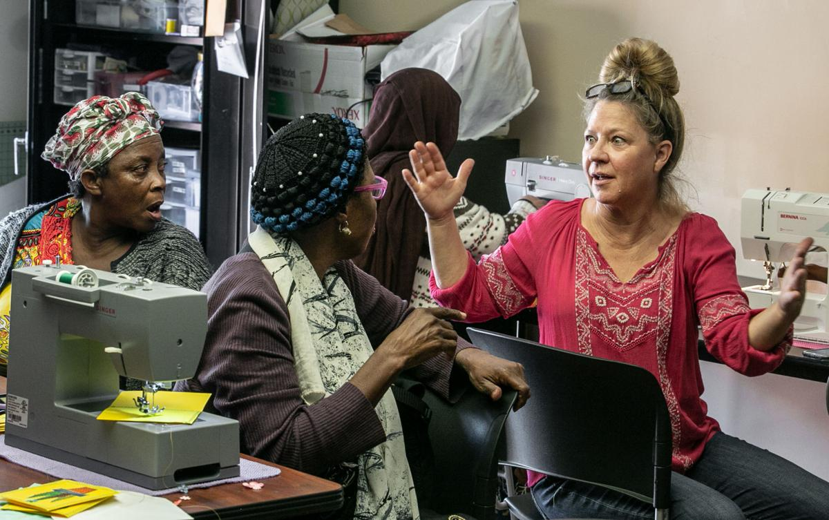 Tucson Refugee Women Sewing Project