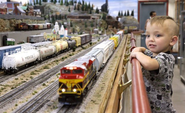 Old, new and toy trains for National Train Day