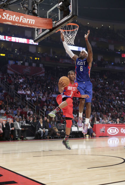 NBA ALL-star game: LA crew takes charge as West holds off East