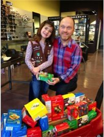 Fashion Eye Center supports Girl Scouts