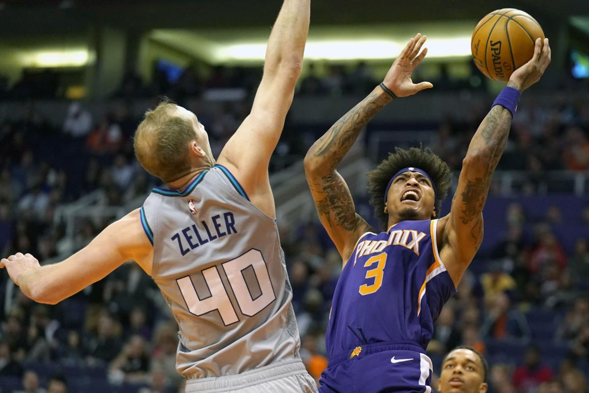Hornets Suns Basketball