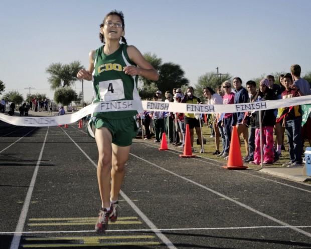 High school girls cross country sectionals: CDO sophomore earns win