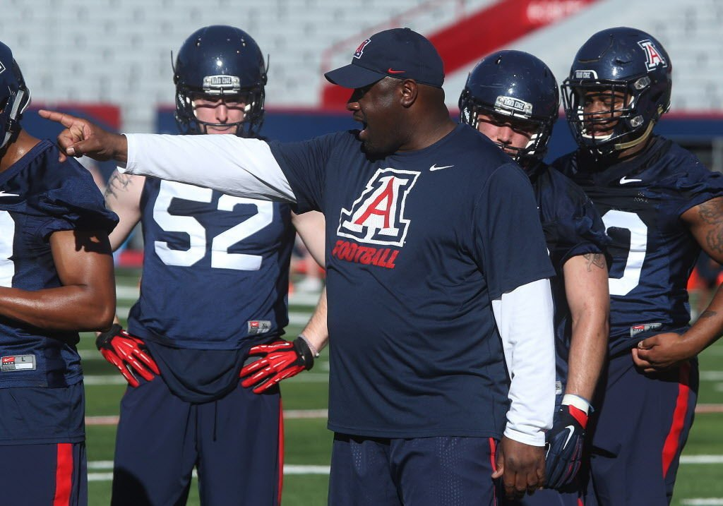 Arizona Wildcats spring football practice