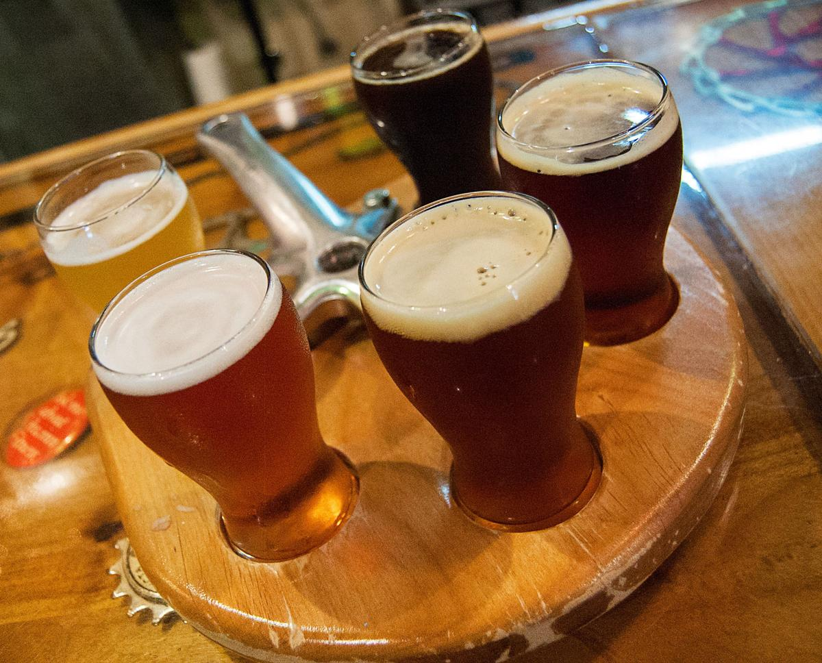 beers at Catalina Brewing Company