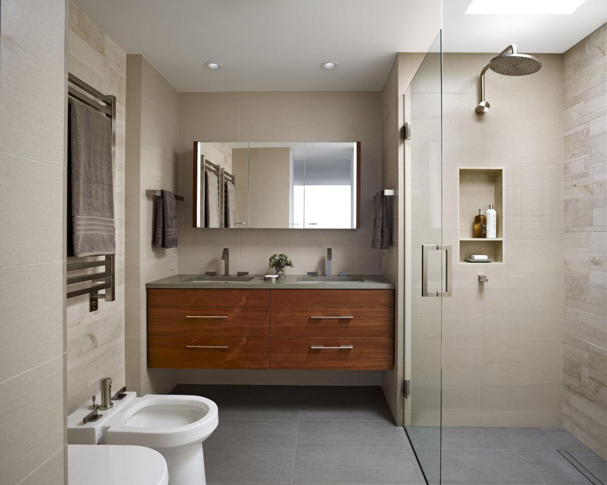 Reset Your Routine With A Functional Modern Bathroom