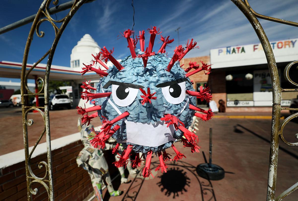 COVID-19 piñata