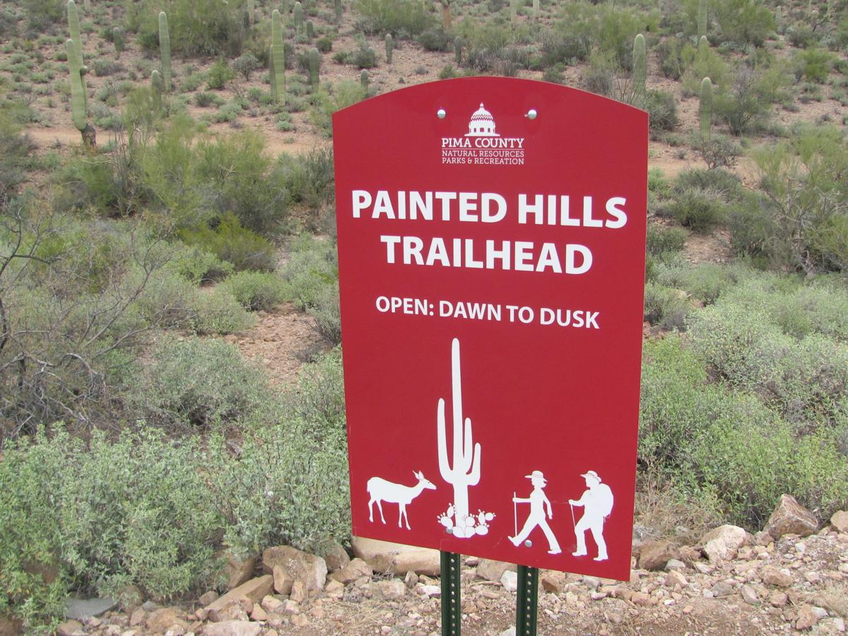 Sign at preserve