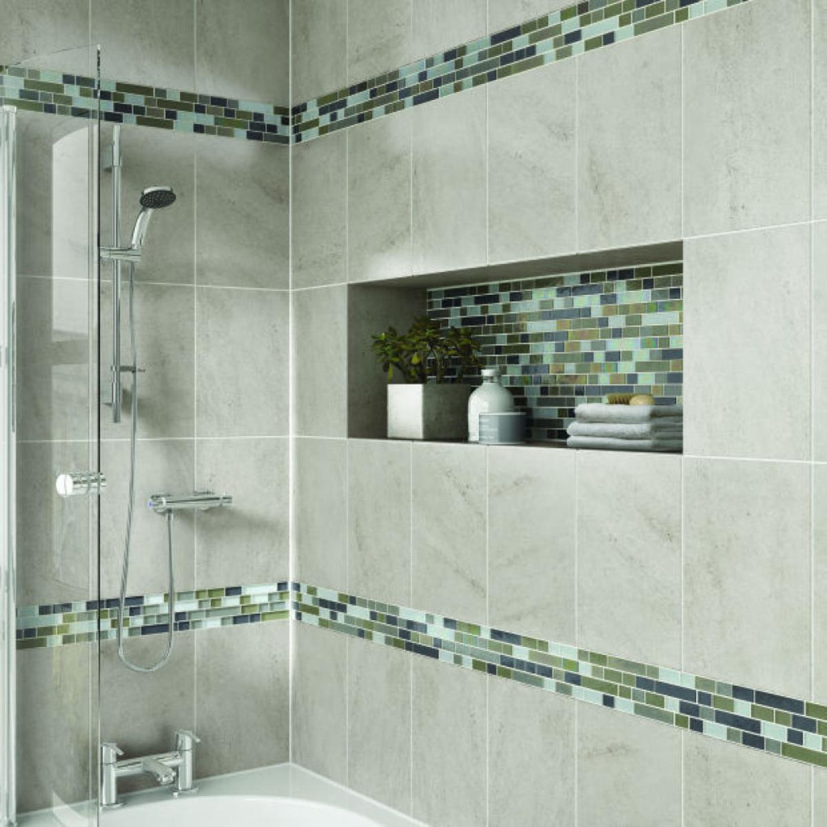 My Travertine Tile Shower Seems To Be