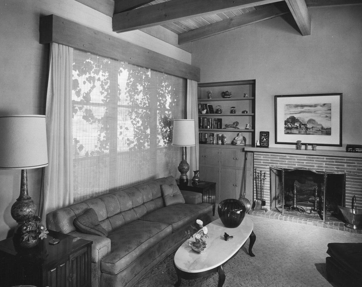 1960 photos: This home stresses livability