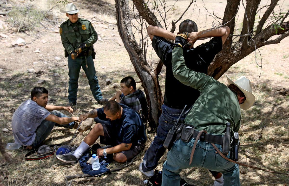 U.S. Border Patrol horse unit