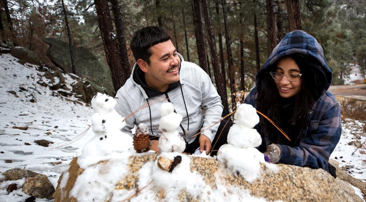 Nov. 10 photos: Snow in the Santa Catalina Moutnains